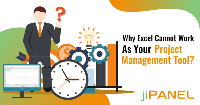 Why Excel Cannot Work As Your Project Management Tool?