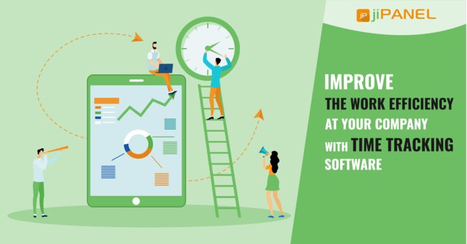 Improve The Work Efficiency At Your Company With Time Tracking Software